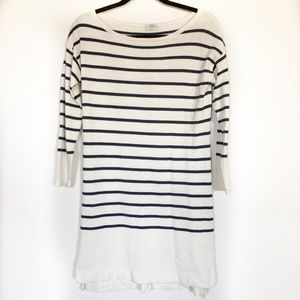 Madewell Wallace Striped Dress Size Small